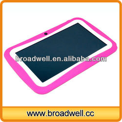 2013 New Design 7 inch Lovely Colourful Android 4.1 Dual Camera custom made tablets for kids