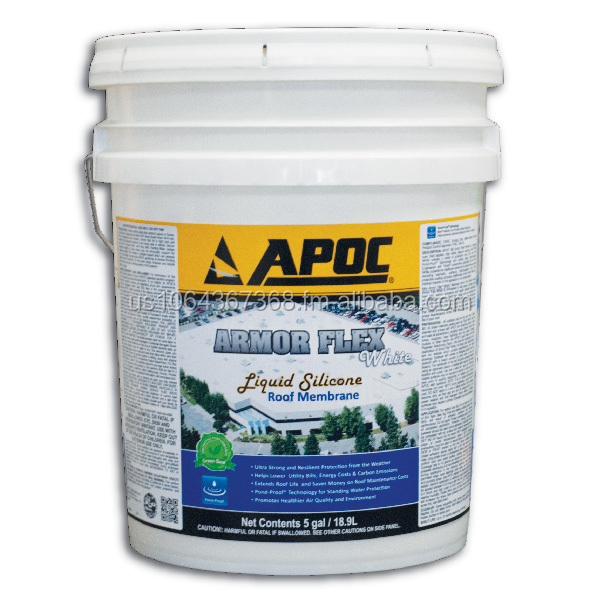 APOC 585 Armor Flex White Liquid Silicone coating