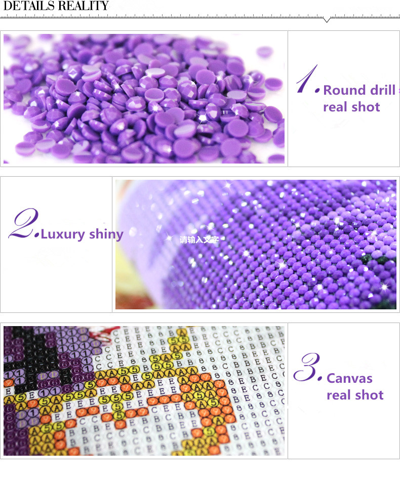 5d diy crystal diamond painting with butterfly & diamond embroidery kit
