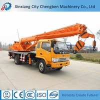 Full set certificate straight arm lifting crane truck with 15 tons for sale