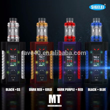 Original Sigelei MT 220W TC Box Mod Sigelei MT 220w LED Light Box pod Mod