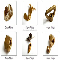High standard brass copper fitttings in hardware