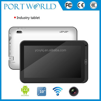 Hot sale 10.1 inch dual core android wall mount android tablet poe