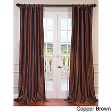 copper brown window curtain models from china blackout curtain