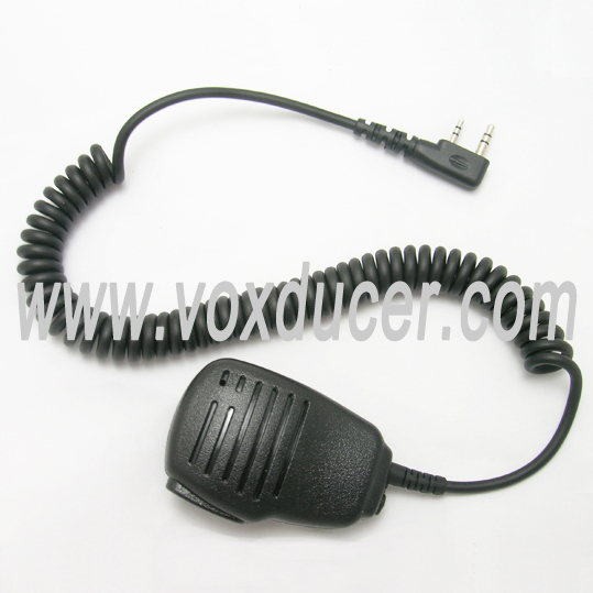 [SM2C-K] Manufacture Black Volume Control Handheld Speaker Microphone for Walkie Talkie