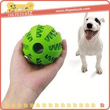 Custom dog snacks ball toys ,p0w3y rubber dog toys ball for sale
