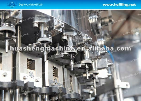 DCGF 3-in-1 Isotonic/Soda water/Gas-bearing Filling Machine