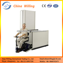 Vertical Wheelchair Platform Stair Lift/Accessible Lift For Elderly Scooter