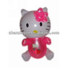 2014 shanghai zhanxing hot sale pvc fashion popular new inflatable hello kitty toys for kids fun in good price