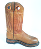 Maple Leaf Pattern Fashion Leather Riding Boots
