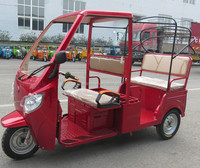 2016 new model 6 passengers electric tricycle 3 wheel auto e rickshaw for sale
