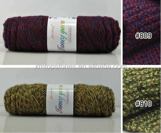 chunky yarn wool for DIY scarf wool yarn high quality