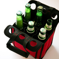 6 pack neoprene bottle holder for koozies