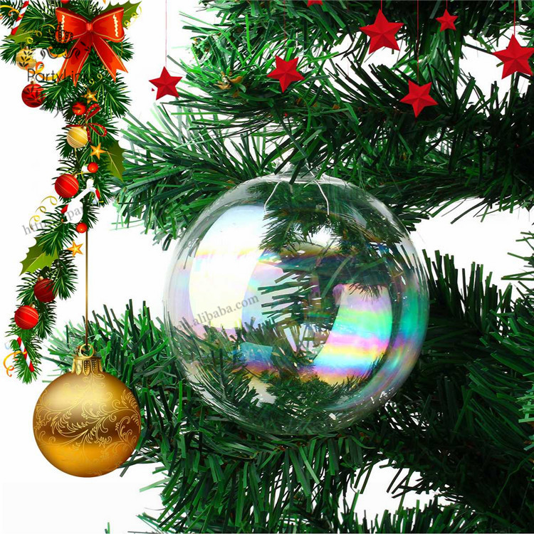<strong>Christmas</strong> Hanging Ball <strong>Christmas</strong> Tree Drop Ornaments Glass Iridescent Ball Baubles Sphere <strong>Christmas</strong> Pendant Decoration