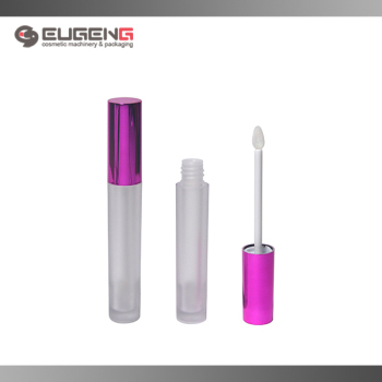 Small Luxury Empty Liquid Lipstick Lip Gloss Tube Packaging With Brush
