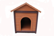 outdoor waterproof wood dog house dog cage