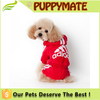 Wholesale dog clothes, hot sale pet winter hoodies clothing for large size dog, adidog pet cloth