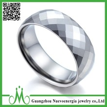 High quality vogue jewelry wedding rings custom design russian tungsten ring popular graduation ring