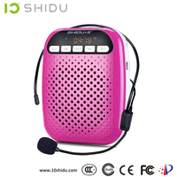 waistband speaker support TF card,USB, MP3 format, one-key FM radio function
