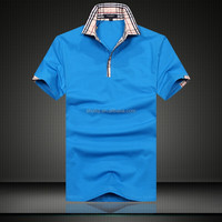 Korean Men Summer T-shirt Polo t-shirt T-shirt printing