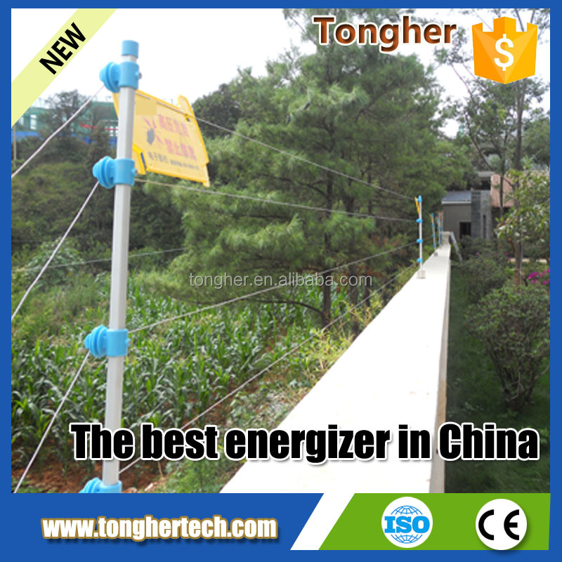 safety wall top electric fence wired fence(factory)