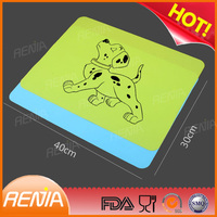 RENJIA cat mats for food silicone personalized dog mat dog cooling mat
