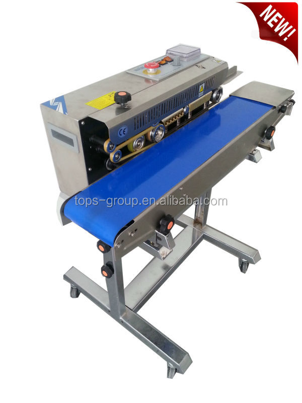 semi-automatic impulse plastic bag sealer