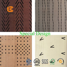 Acoustical DIY Building Sound Panels Wall Covering Timber MDF Wooden