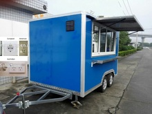 Catering Trailers mobile food trucks motorcycle camping trailers food mall kiosk ,food delivery car for sale