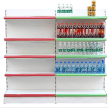 90*45*180cm single CVS 5 layers plate back <strong>shelf</strong> Plain Metal Gondola Supermarket <strong>Shelf</strong>