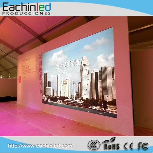 P3.91 indoor large theater led display screen wall