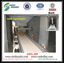 used flat grain unloading belt conveyor price