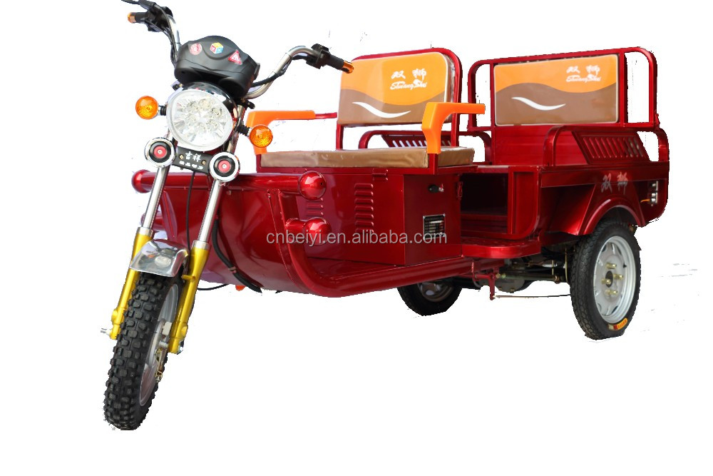 Battery Powered 60V Electric Tuk Tuk With Spare Parts