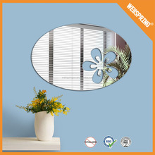 08-0708 Popular removable barthroom sticker high quality home decor mirror decal