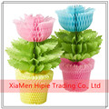 Hot Sale High Quality Beautiful Honeycomb Paper Flowers