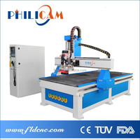 Cheap facotry price ATC cnc router engraving machine 10 pieces tools auto change 1325 1530 with CE/ISO/BV certificate
