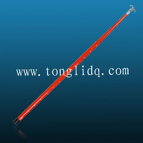 High Voltage fiberglass Telescopic Hot Stick