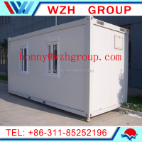 China cheap Prefab container house / 40ft container house for workshop , office