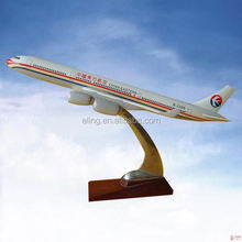 CUSTOMIZED LOGO RESIN MATERIAL model airplane handicraft