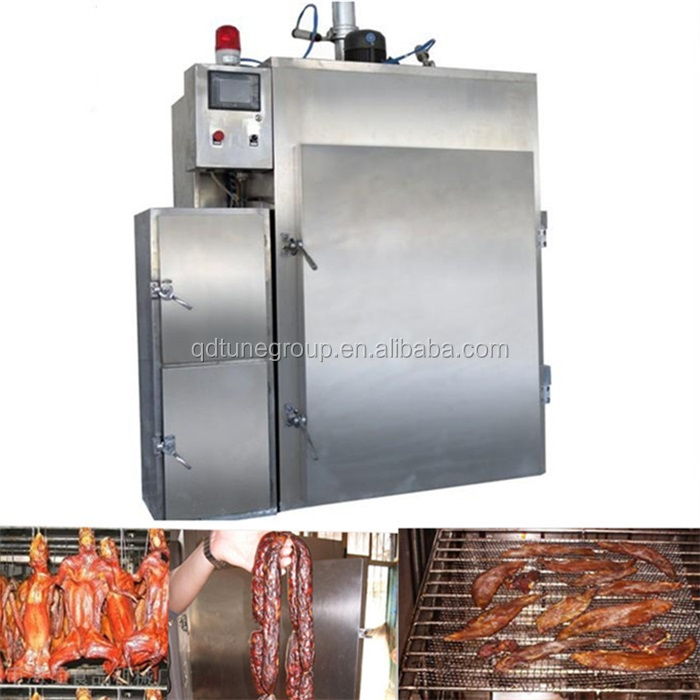 2016 Hot Selling Stainless Steel Meat Smokehouse Oven Smokeoven Smoker For Sausge Fish Beef
