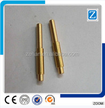 high precision cnc machining brass motorcycle parts