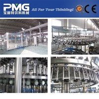 Full Automatic small glass bottle beer bottling machine / brewing filling equipment