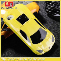 Cool 3d Design Hard Pc Stand Cover Luxury Sport Racing Car Case For Iphone4 4s