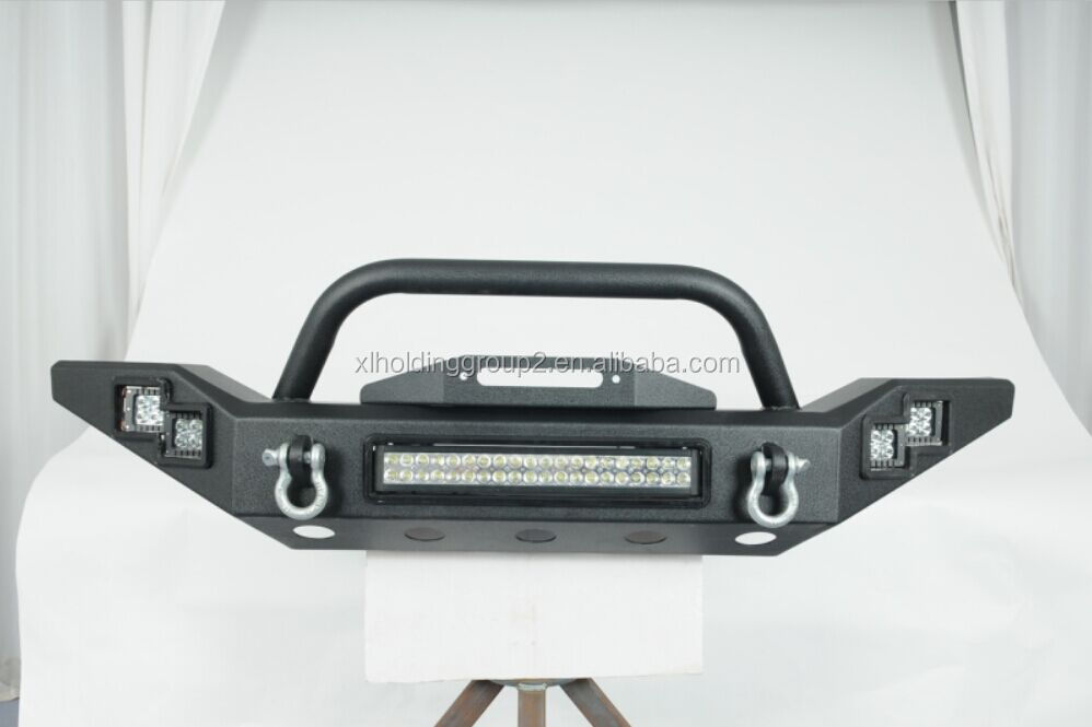 JEEP WRANGLER JK LED Power Front Bumper with led light