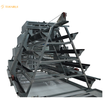 Hot galvanized H-type chicken layer cage for Poultry Equipment