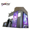 Luxury wrinkle free fabric exhibition construction display favoshow exhibit