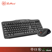 Manufacturer latest hot selling best 2.4G wireless keyboard and mouse combo for desktop and laptop