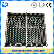 Square Wire Mesh for Conveyor Equipment, With Roller Chain , Complete in Specifications