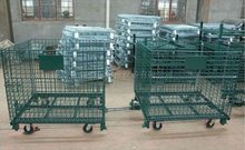 JS Industrial mesh cage, Cart, Warehouse storage trolley
