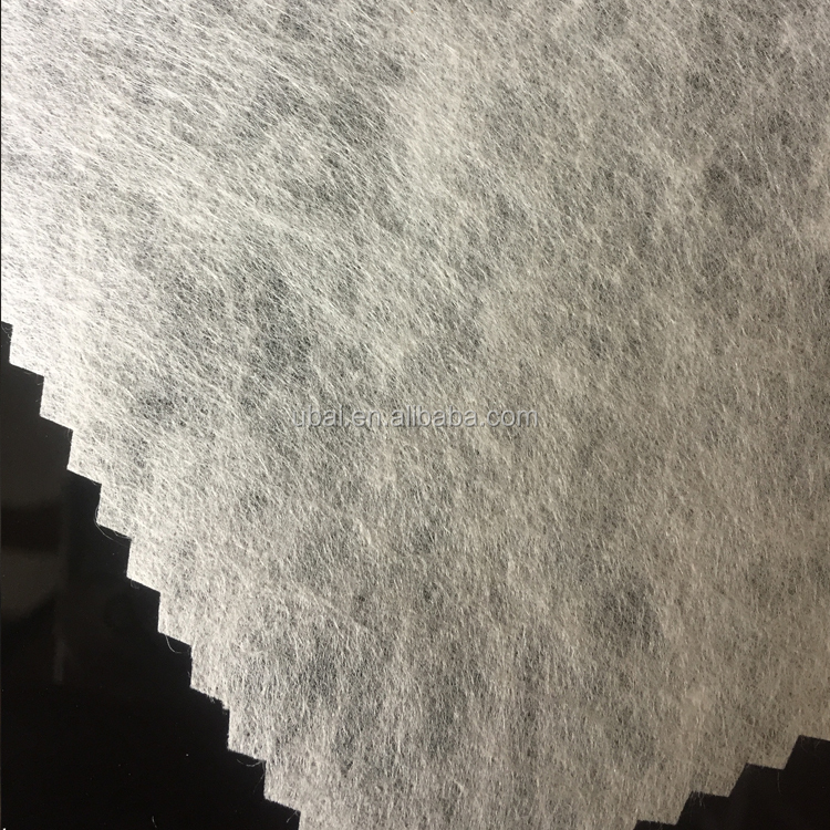 Hot water soluble paper for garment embroidery backing